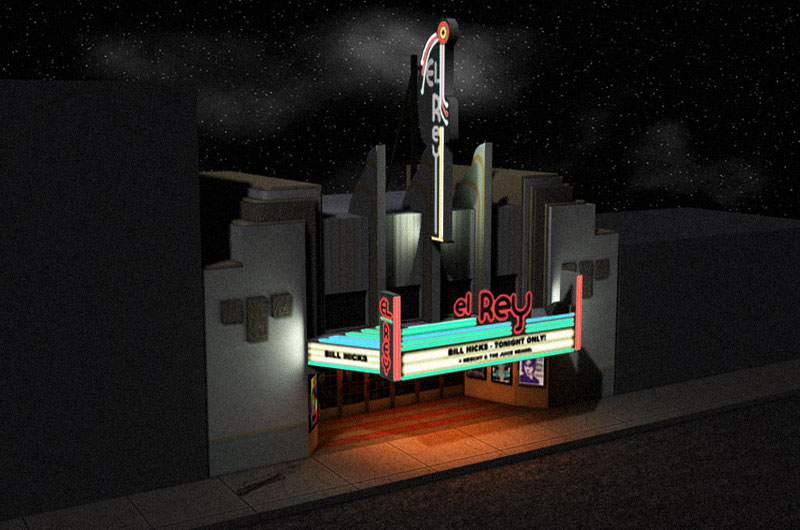 ElRey theatre model