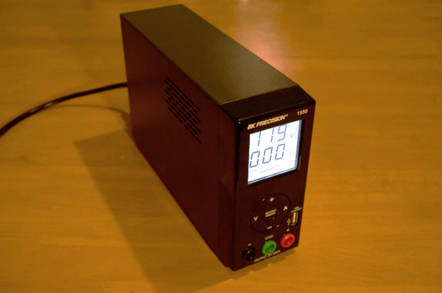 Picture of BK Precision 1550 power supply.