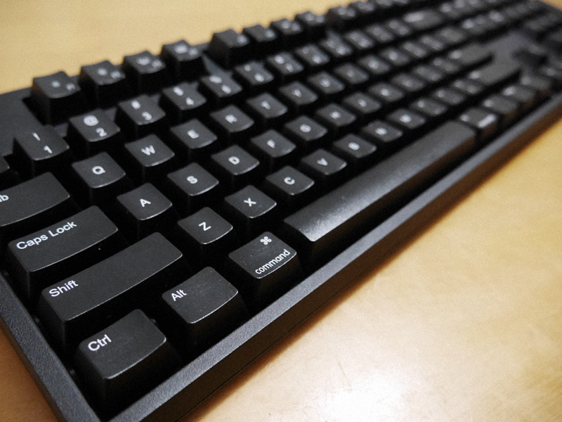 A picture of WASD mechanical keyboard