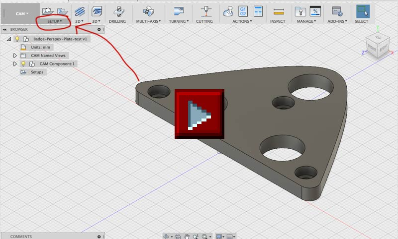 RepRage – How to export gcode from Autodesk Fusion360 for