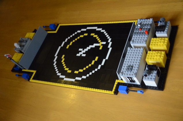 lego spacex spaceport Autonomous drone ship